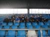 Im Rewirpower-Stadion Bochum, leider viel zu früh